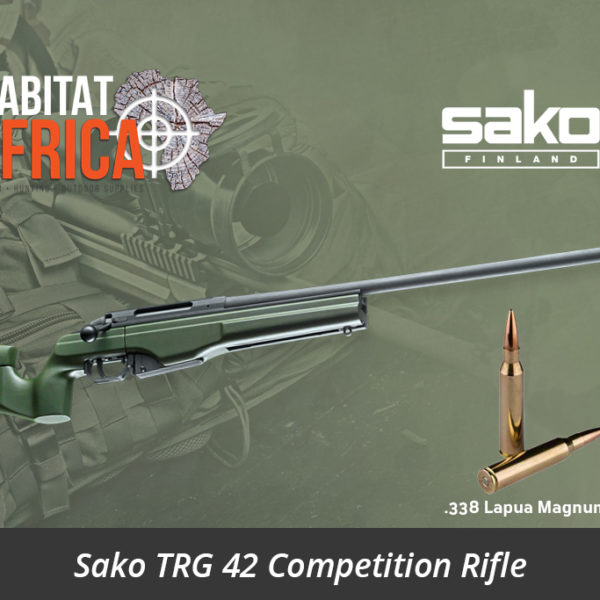 Sako TRG 42 338 Lapua Magnum Rifle Phosphatized - Habitat Africa | Gun Shop | South Africa
