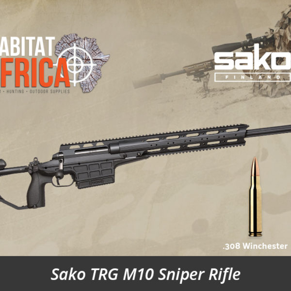 Sako TRG M10 308 Winchester Sniper Rifle - Black Colour