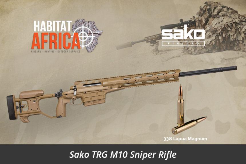 Sako TRG M10 Coyote Brown 338 Lapua Magnum Sniper Rifle - Habitat Africa Gun Shop | South Africa