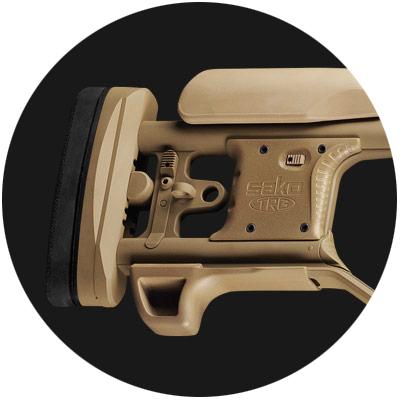 Sako TRG M10 Rear Stock