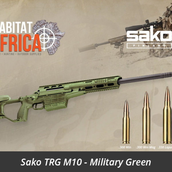 Sako TRG M10 Sniper Rifle - Military Green