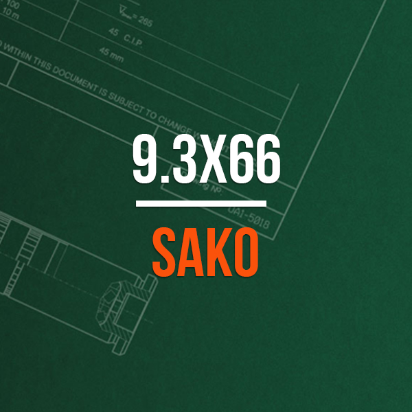 9.3x66 Sako Hunting Rifle Caliber
