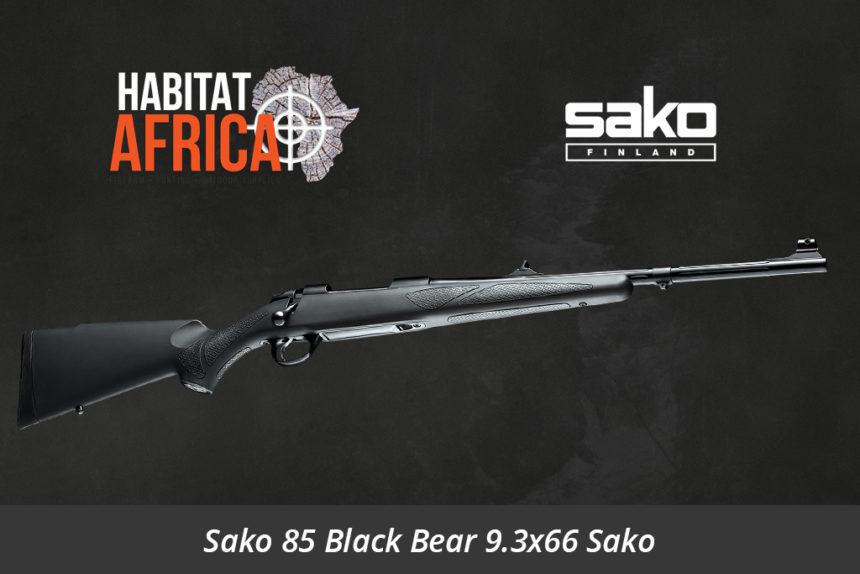 Sako 85 Black Bear 9.3x66 Sako Rifle