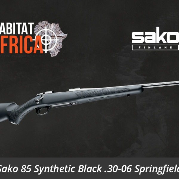 Sako 85 Synthetic Black 30-06 Springfield Rifle