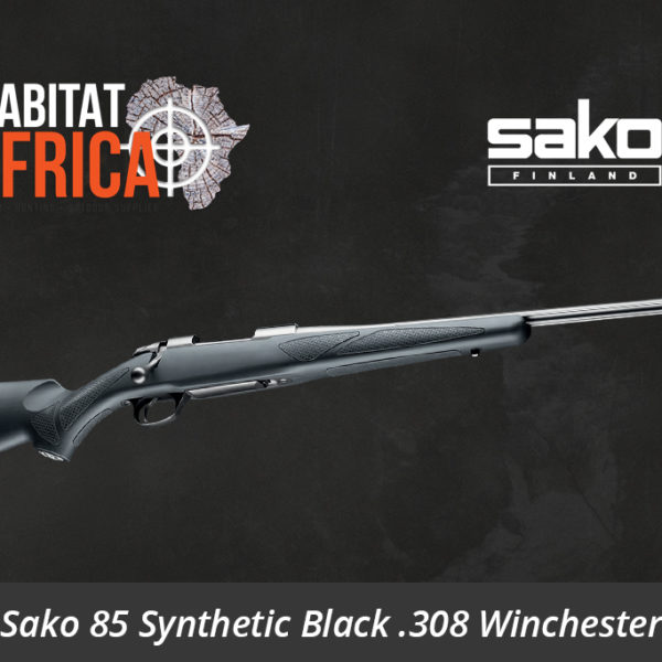 Sako 85 Synthetic Black 308 Winchester Rifle