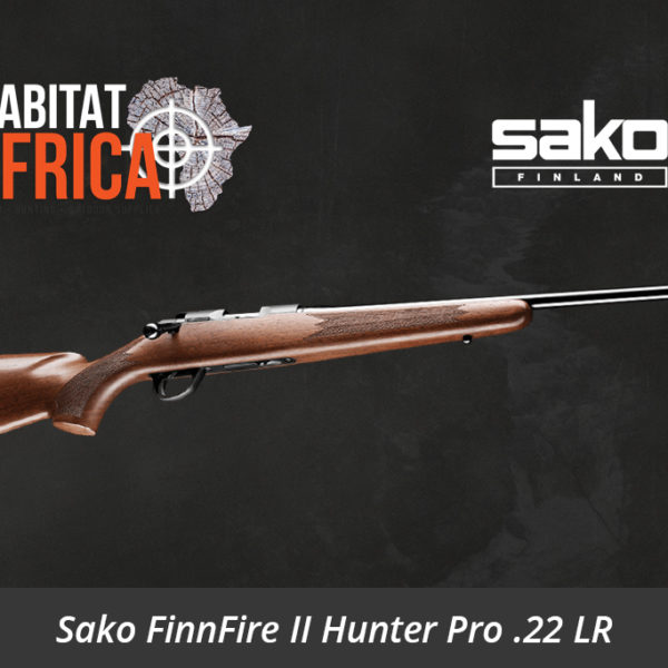 Sako FinnFire II Hunter Pro 22 Long Rifle