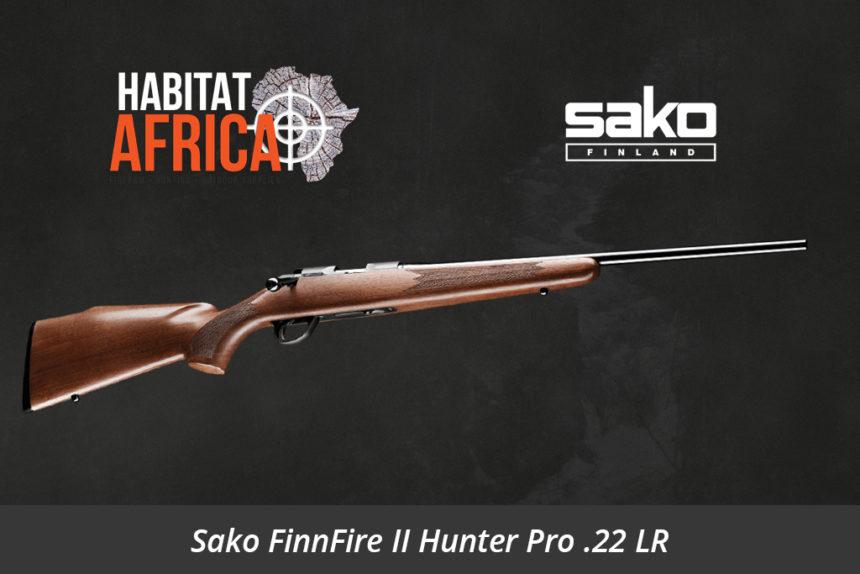 Sako FinnFire II Hunter Pro 22 Long Rifle