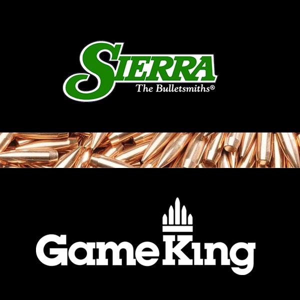 Sierra GameKing 6 5mm 264 140gr SBT Bullets 100pts - Habitat