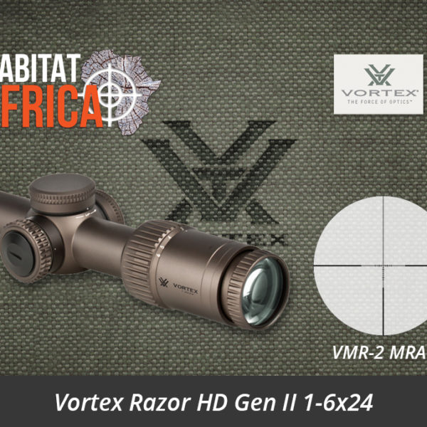 Vortex Razor HD Gen II 1-6x24 Riflescope VMR-2 MRAD Reticle