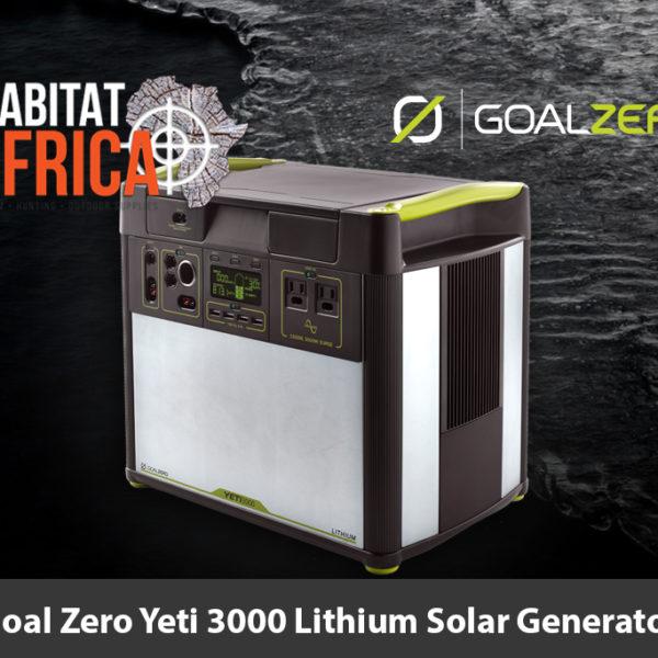 Goal Zero Yeti 3000 Lithium Solar Generator