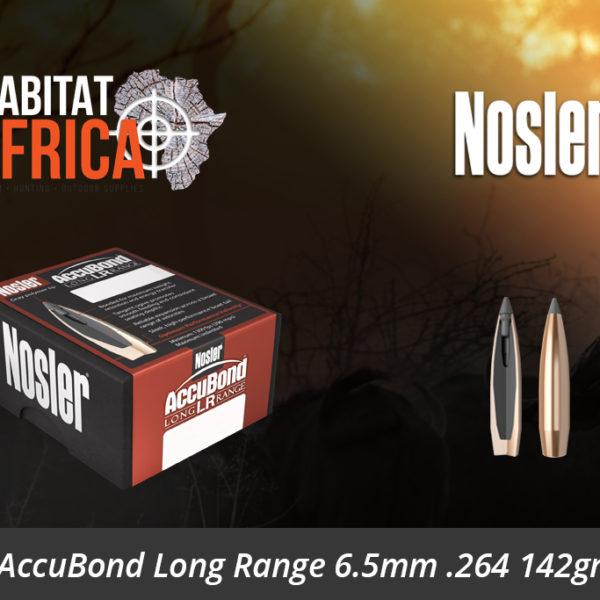 Nosler AccuBond Long Range 6.5mm 264 142gr Bullets - Habitat Africa | Gun Shop | South Africa