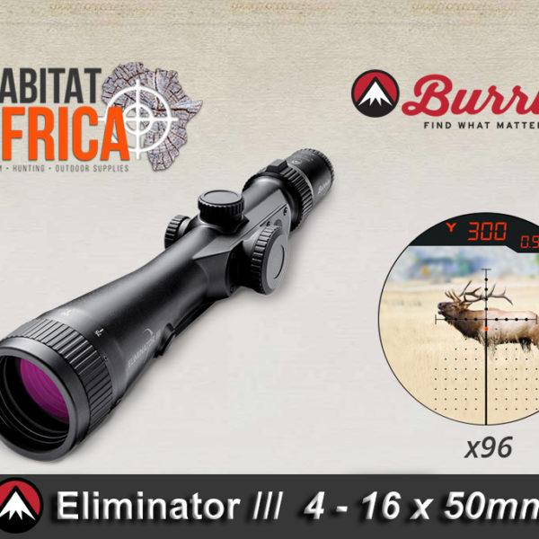 Burris Eliminator III 4-16x50