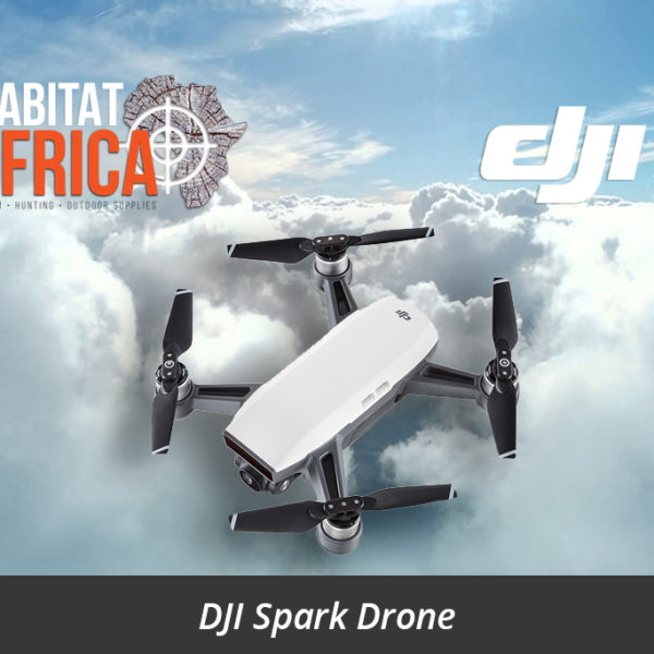 DJI Spark Drone Side View - Habitat Africa | Action Cameras & Drones | South Africa