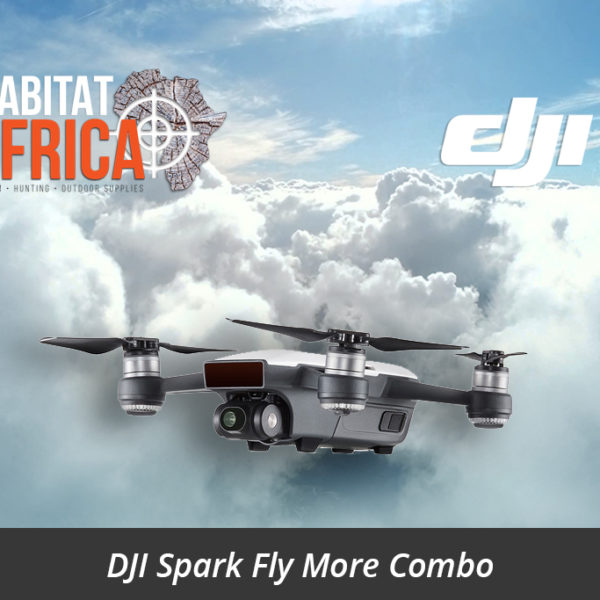 DJI Spark Fly More Combo - Habitat Africa | Action Cameras & Drones | South Africa