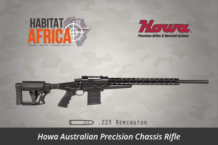 Howa APC Chassis Rifle 223 Remington Standard Barrel - Habitat Africa   Gun Shop   South Africa