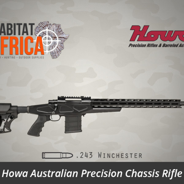 Howa APC Chassis Rifle 243 Winchester Standard Barrel - Habitat Africa | Gun Shop | South Africa