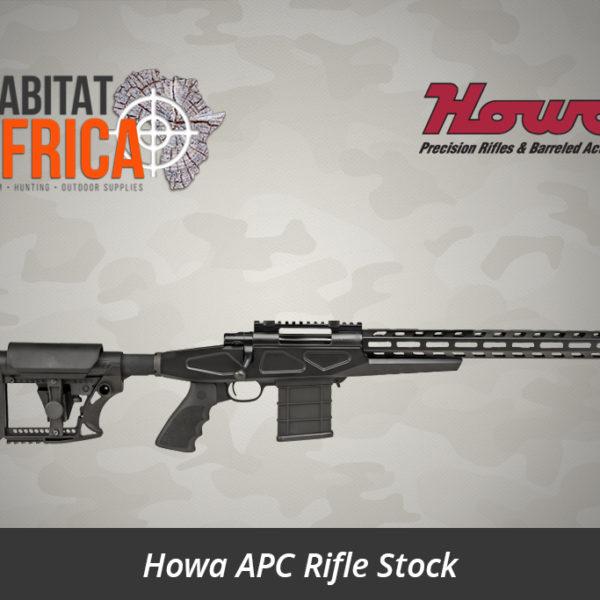Howa APC Rifle Stock - Habitat Africa | Gun Shop | South Africa