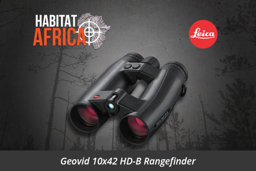 Leica Geovid 10x42 HD-B Rangefinder Binoculars - Habitat Africa | Sport Optics | South Africa
