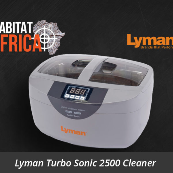 Lyman Turbo Sonic 2500 Ultrasonic Case Cleaner - Habitat Africa | Reloading Equipment | South Africa