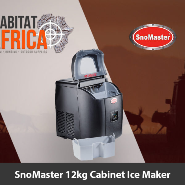 SnoMaster 12kg Cabinet Ice Maker Black - Habitat Africa | Camping & Outdoor Supplies | South Africa
