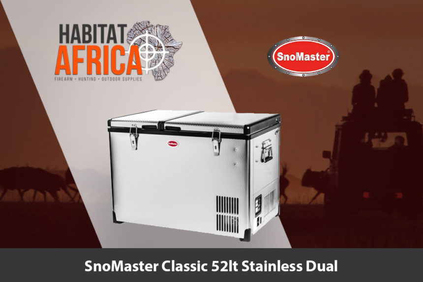 SnoMaster Classic 52 Litre Stainless Dual Fridge/Freezer - Habitat Africa | Camping and Outdoor Supplies | South Africa