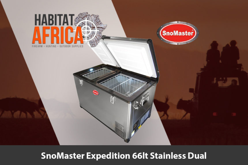 SnoMaster Expedition 66 Litre Stainless Dual Fridge and Freezer - Habitat Africa | Camping and Outdoor Supplies | South Africa