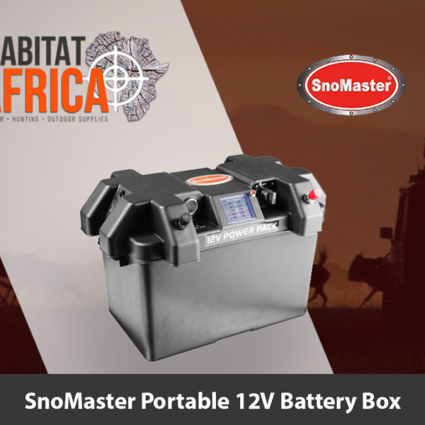 SnoMaster Portable 12V Battery Box - Habitat Africa | Camping and Outdoor Supplies | South Africa