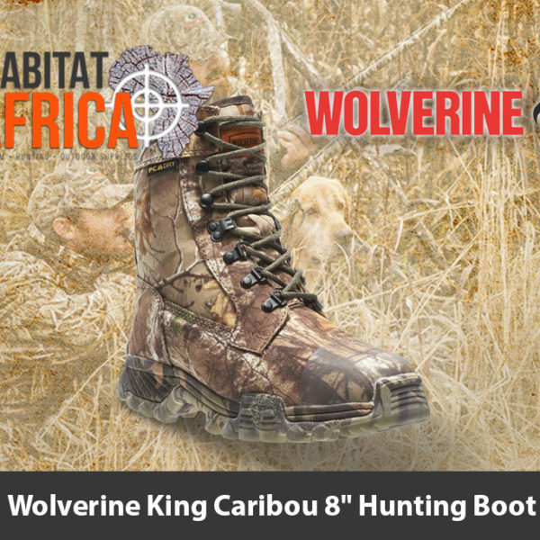 "Wolverine King Caribou 8"" Mens Hunting Boots - Habitat Africa 