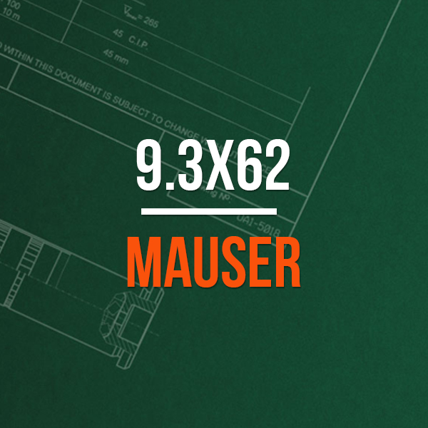 9.3x62 Mauser Hunting Rifle Caliber