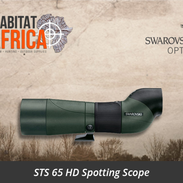 Swarovski STS 65 HD Spotting Scope - Habitat Africa | Gun Shop | South Africa