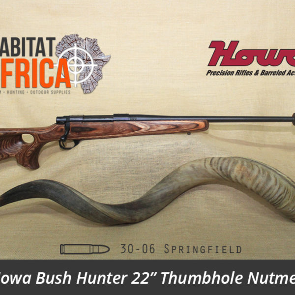 Howa Bush Hunter 22 inch 30-06 Springfield Thumbhole Nutmeg Laminate Rifle - Habitat Africa | Gun Shop | South Africa