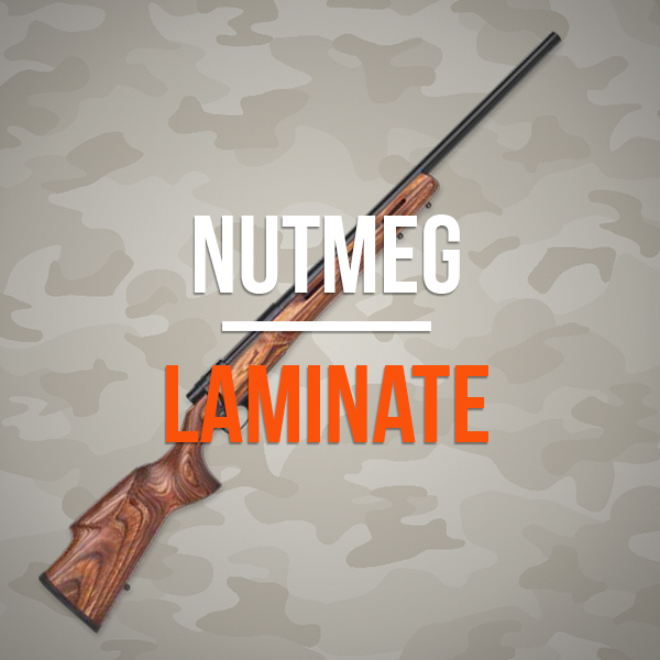 EuroVarmint Nutmeg Laminate Rifles