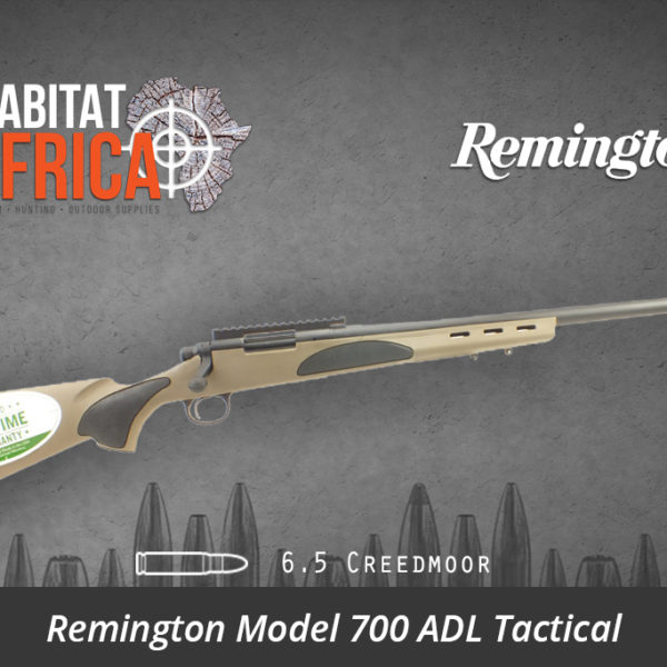 Remington 700 ADL Tactical 6.5 Creedmoor FDE - Habitat Africa | Gun Shop | South Africa