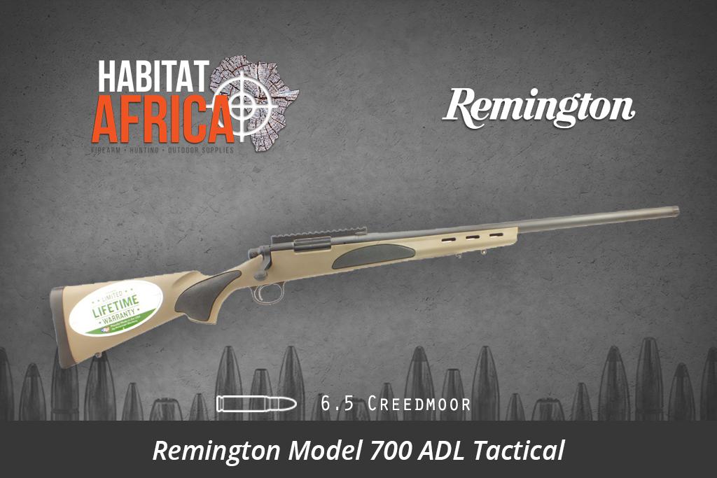 Remington 700 ADL Tactical 6 5 Creedmoor FDE
