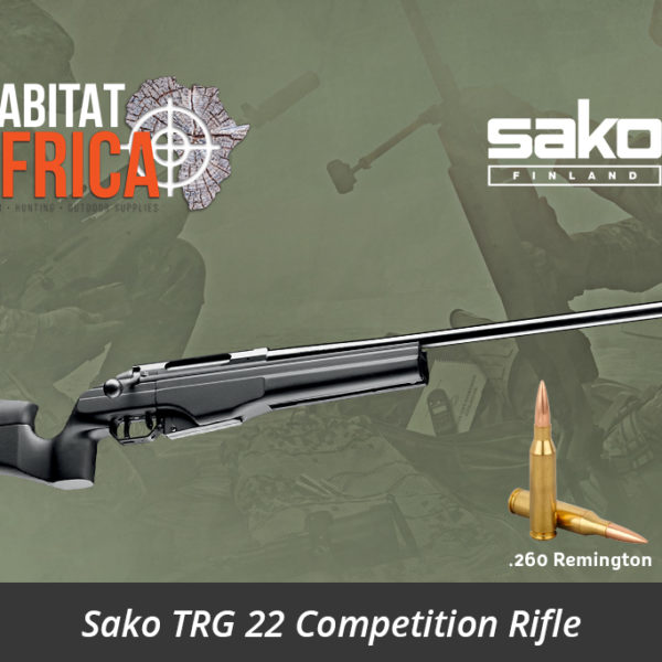 Sako TRG 22 Black 260 Remington Competition Rifle - Habitat Africa | Gun Shop | South Africa