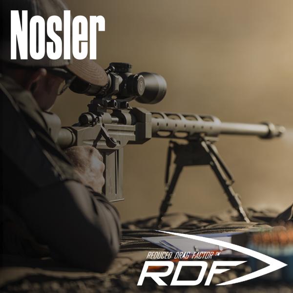 Nosler RDF Bullets