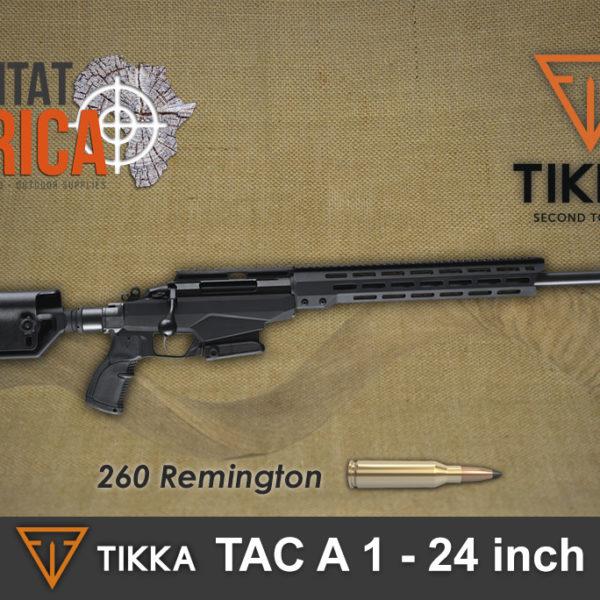 Tikka TAC A1 260 Rem 24 Inch Habitat Africa