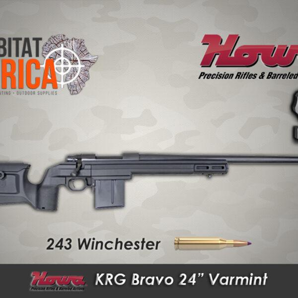 Howa KRG Bravo 243 24 Inch