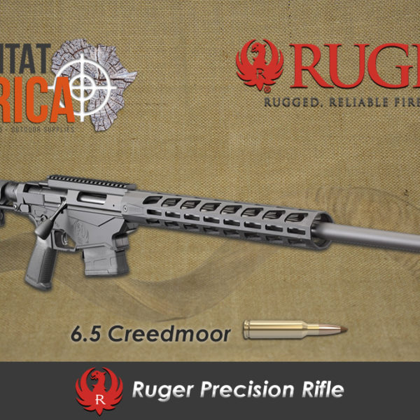 Ruger Precision Rifle 6.5 Creedmoor Habitat Africa