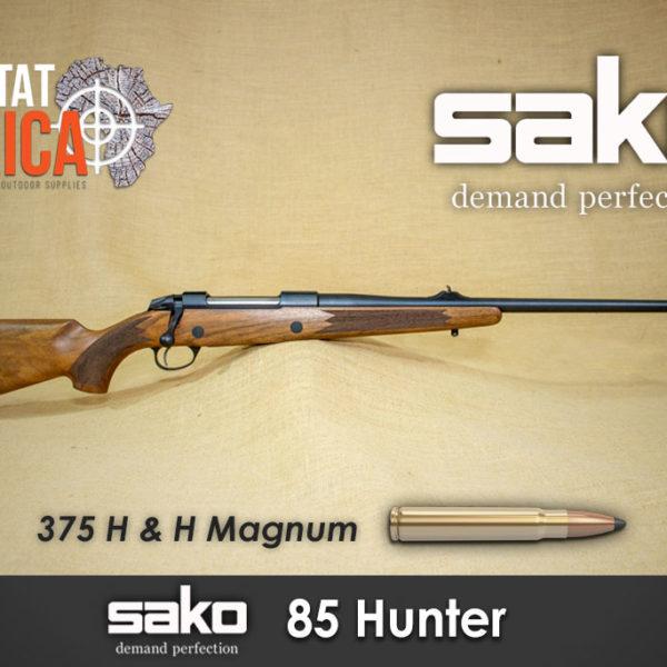 Sako 85 Hunter 375 H&H Magnum Habitat Africa