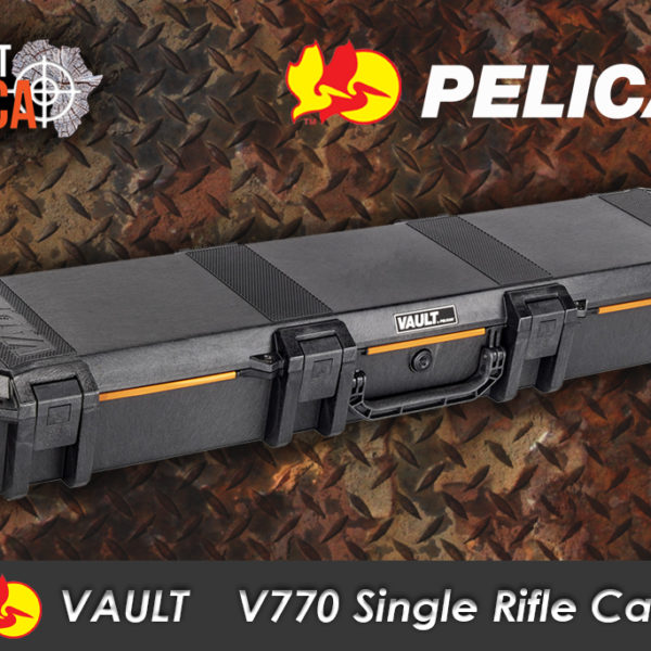 Pelican Vault V770 Single Rifle Case Habitat Africa main view