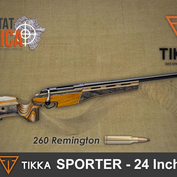 Tikka Sporter 260 Rem 24 Inch Habitat Africa