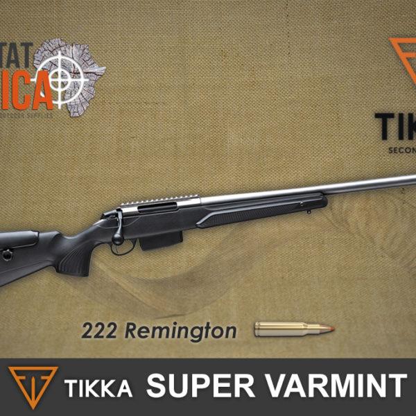 Tikka T3x Super Varmint 222 Rem Habitat Africa
