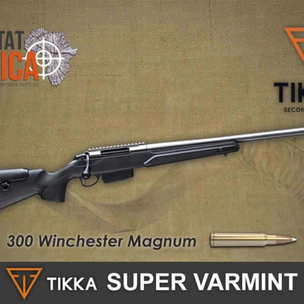 Tikka T3x Super Varmint 300 Winchester Magnum Habitat Africa