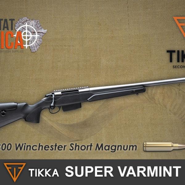 Tikka T3x Super Varmint 300 WSM Habitat Africa