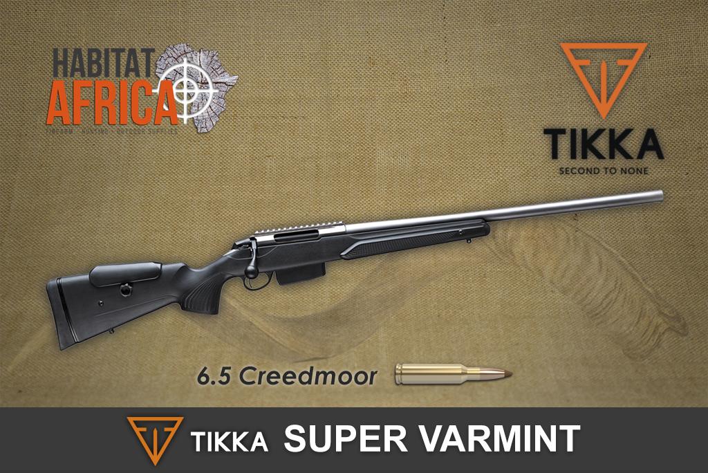 Tikka T3x 6 5 Creedmoor Super Varmint