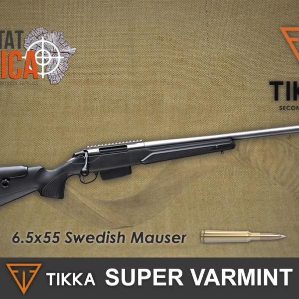 Tikka T3x Super Varmint 6.5 x 55 SE Habitat Africa
