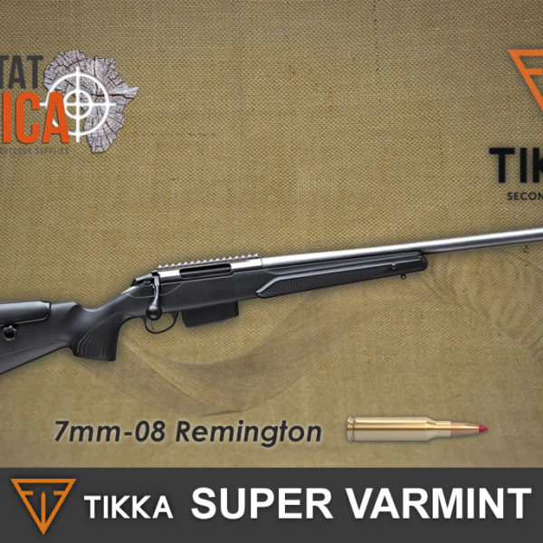Tikka T3x Super Varmint 7mm-08 Remington Habitat Africa