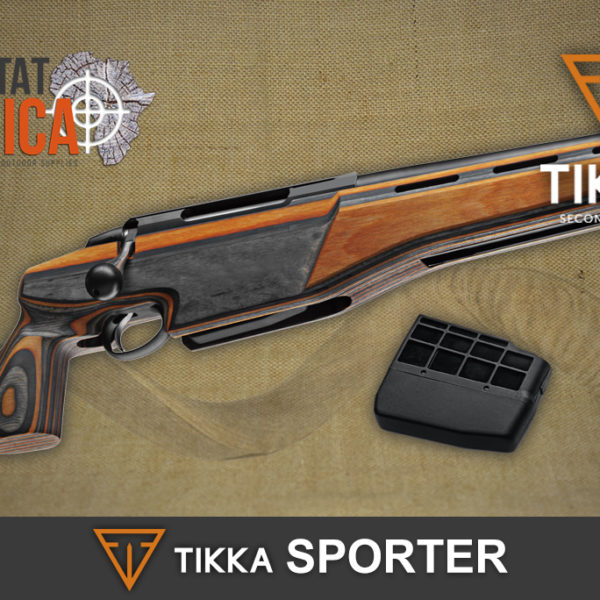 Tikka T3x Sporter Improved Magazine and Adjustable Trigger Habitat Africa