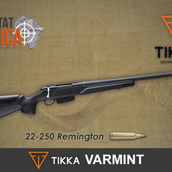 Tikka T3x Varmint 22-250 Remington Habitat Africa